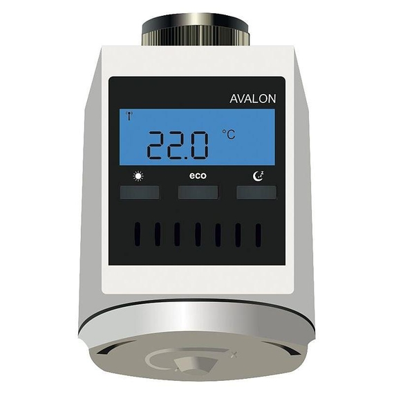 Funk-Heizkörperregler Avalon Batterieversion AA 1,5V