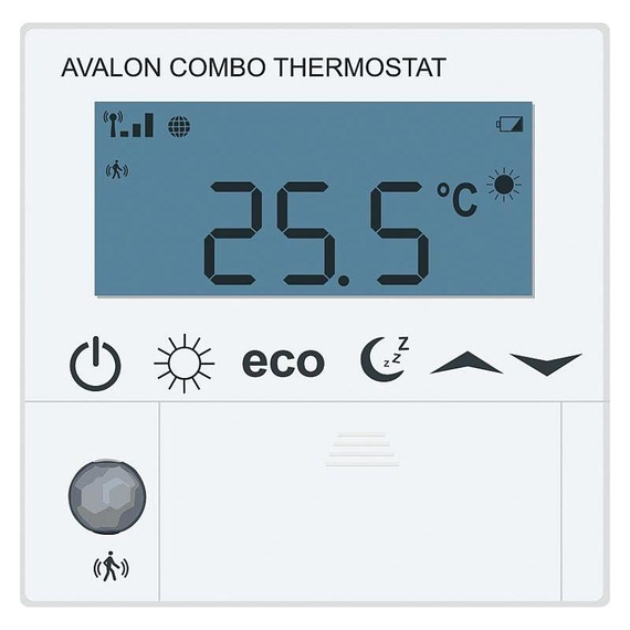 Funk-Raumthermostat Avalon Combo Batterieversion AA 1,5V